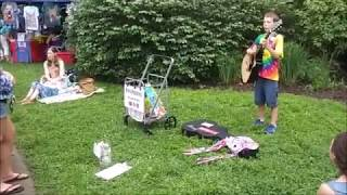 2019 Summer Solstice Festival - 8 year-old Finn Phoenix (6.22.19)