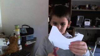 How to make a paper mask