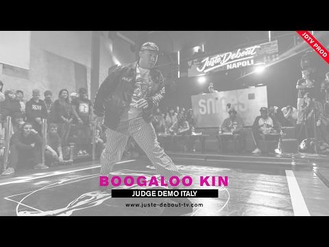 Demo Boogaloo Kin - Juste Debout Tour 2017 Napoli