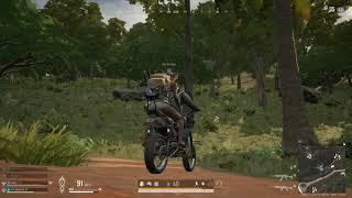 오토바이 뒷자석에서 하루종일 쭝얼대는 겁먹은 할아버지 …