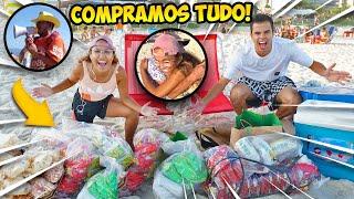 Gambar cover COMPRAMOS TUDO DOS VENDEDORES DE PRAIA! - KIDS FUN