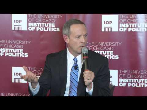 IOP-Governor Martin O'Malley on Progressive Politics in a Po
