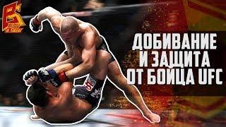 Добивание в партере и защита в ММА от бойца UFC Дави Рамоса