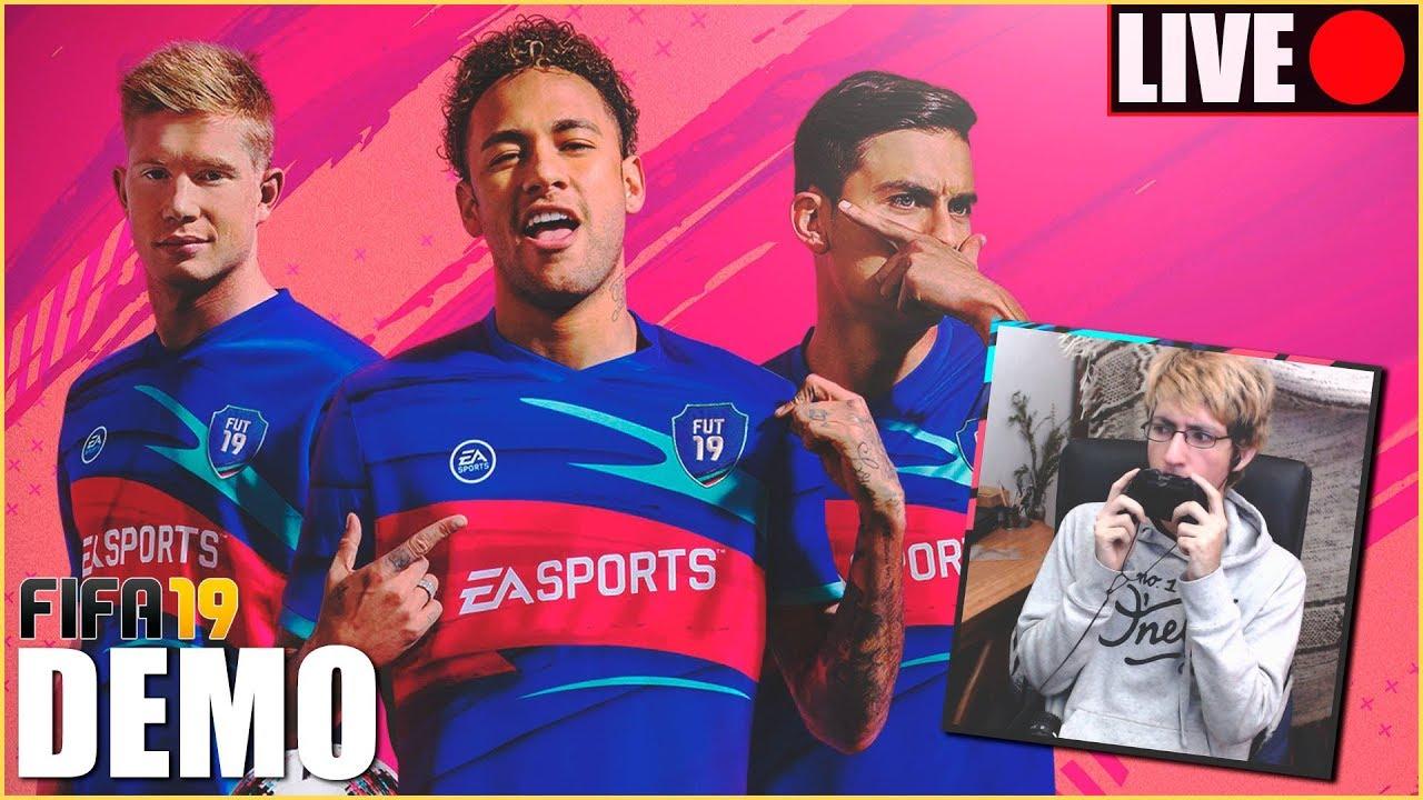 🔴 ¡PROBANDO LA DEMO DE FIFA 19! 🔴 +Plantillas para comenzar FUT ...