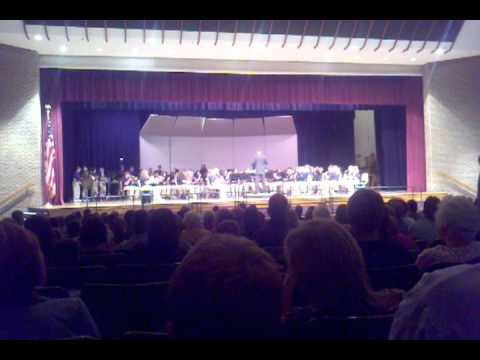 Perry Meridian 6th Grade Academy Band - Spring 2012 - YouTube