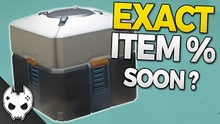 Overwatch - Lootbox Legendary Drop Rates might be released soon-ish