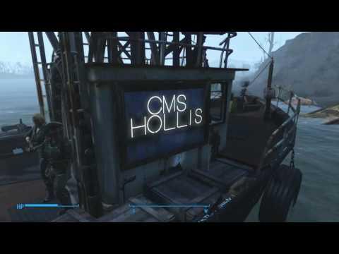 Fallout 4 Patrol Boat Settlement