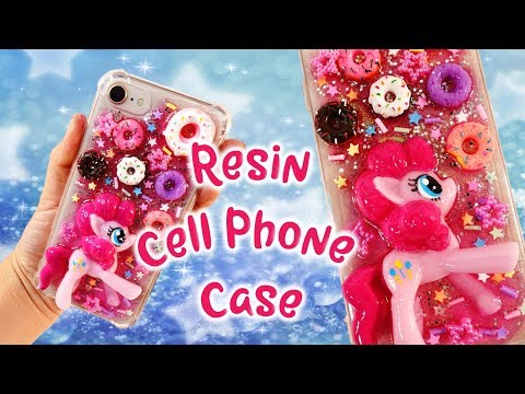 Pinkie Pie My Little Pony DIY Resin Cell Phone Case Tutorial