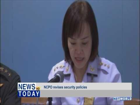NCPO revises security policies