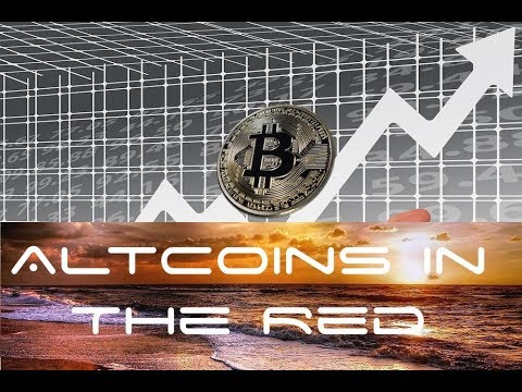 Altcoins in Red as  Bitcoin Price Surging Past $15k