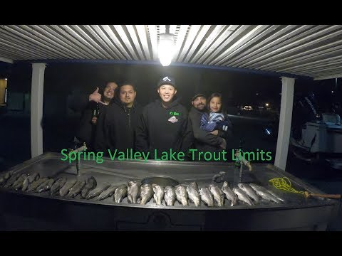 Spring Valley Lake - Limits of Trout - December 10, 2017