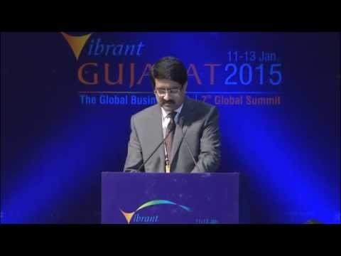 Mr. Kumar Mangalam Birla, Chairman, Aditya Birla Group at Inaugural Session of VGGS'15