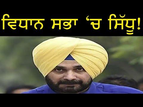 ਸਿੱਧੂ ਵਿਧਾਨ ਸਭਾ 'ਚ !  Punjab Television