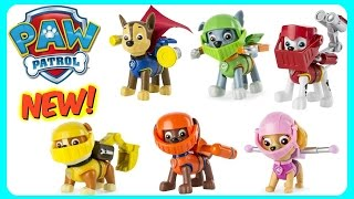 Paw Patrol Mission Quest Knight Pups! NEW 2016  Rubble, Marshall, Skye, Chase, Zuma, Rocky!