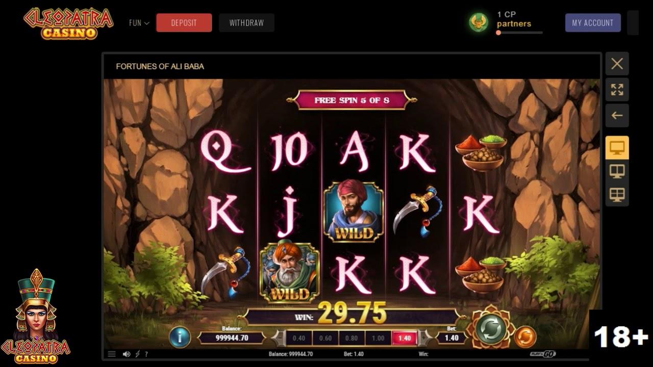 Ali Baba Slot Machine