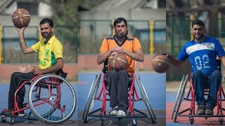 Wheelchair Basketball Team Gives Hope To Paralyzed Men