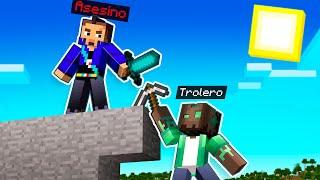 MINECRAFT: TROLEROTUTOS VS ASESINO 😱🔪 MINECRAFT SPEEDRUN con HARDY