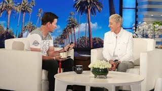Mark Wahlberg Gets a Rare Watch from Ellen for His Birthday