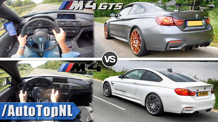 bmw m4 vs m4 competition vs m4 gts  100250kmh  sound by autotopnl