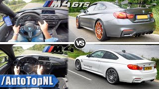 BMW M4 vs M4 Competition vs M4 GTS | 100-250km/h & SOUND by AutoTopNL