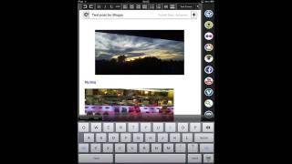 Blogsy - How to Use This Ipad App