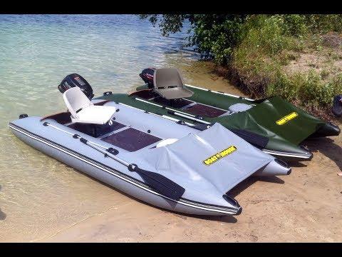 Идеальная лодка под мотор 6 л. с. | Smart Fisher 380
