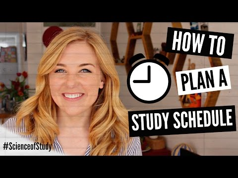 How to plan your ideal STUDY SCHEDULE! | Science of Study #3 | Maddie Moate