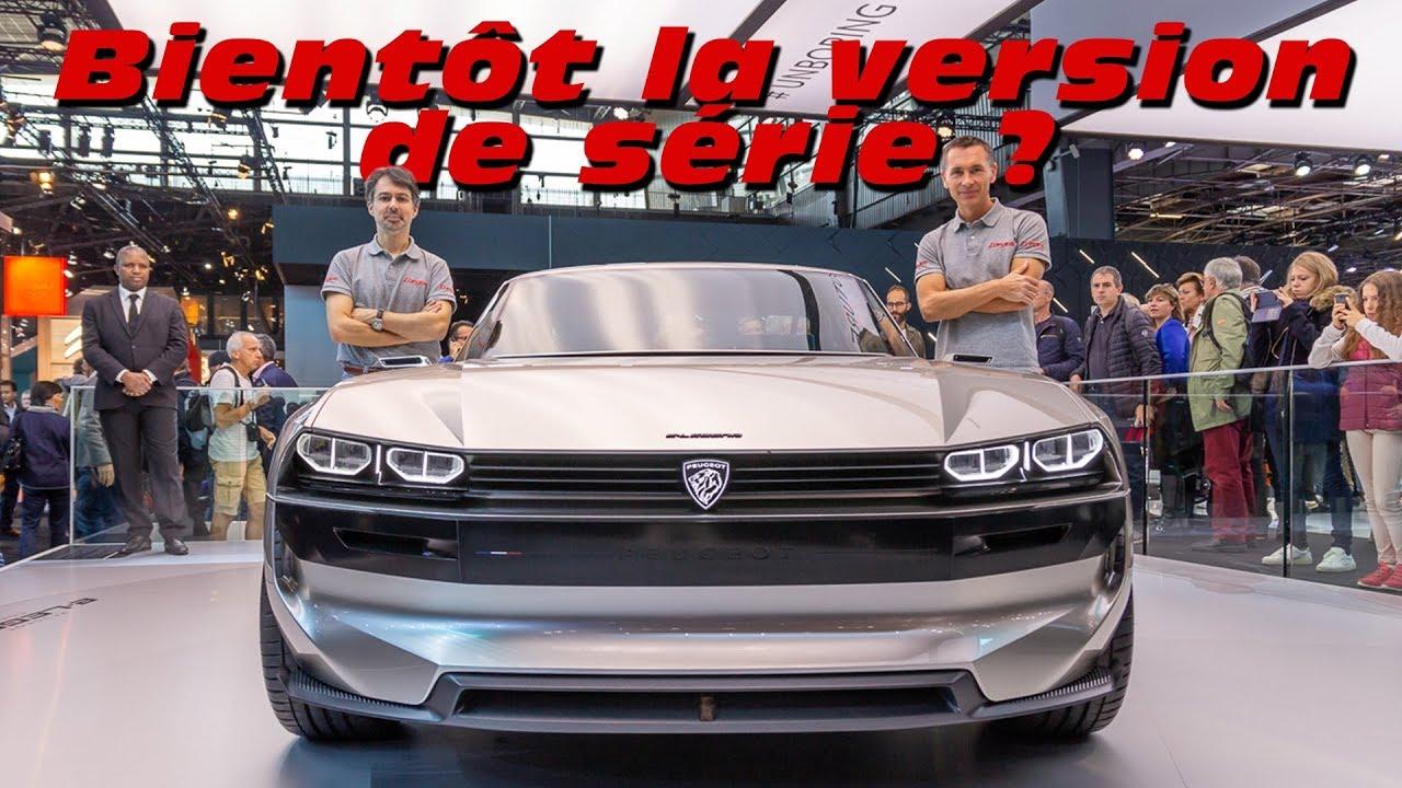 Peugeot E Legend Concept Bientot La Version De Serie Youtube