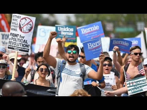 How to be a protester at the DNC