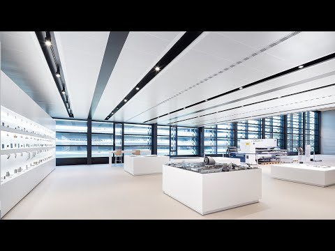Armstrong Metal Ceilings Installed At Trumpf S