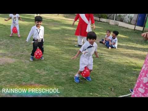 Annual Sports Day - Rainbow Preschool