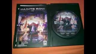 SAINTS ROW IV Commander in Chief Edition Pc DvD original software in pictures
