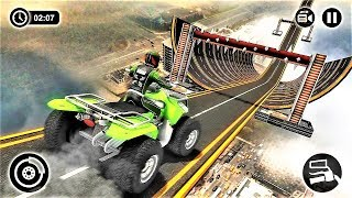 Racing Quad Bike Moto Stunt : ATV Impossible Track-Best Android Gameplay HD #5