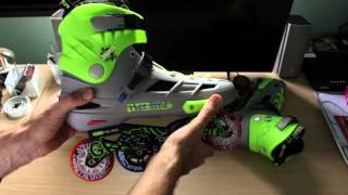 Unboxing dos patins Oxer Graffiti Freestyle