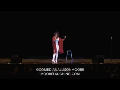 Allison Moore Standup  Famous Funeral Bit