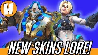 Overwatch - New Blizzard Skins Lore + Origins! | Hammeh