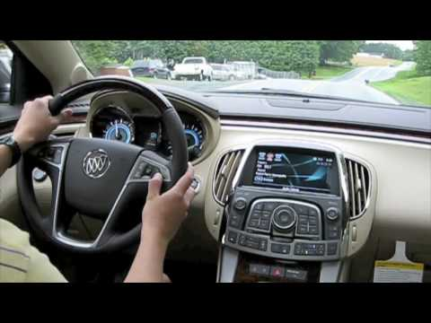 Test Drive The All New 2010 Buick LaCrosse CXS 3.6 - YouTube