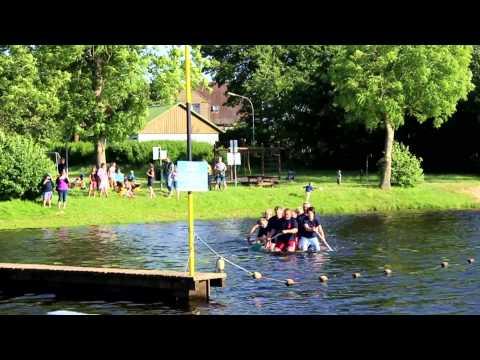 Cold Water Challenge 2014 - Feuerwehr Bargen