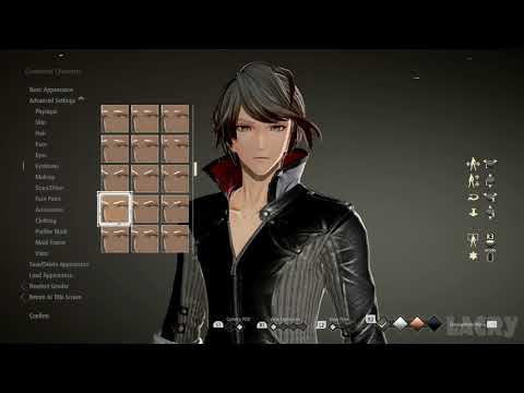 Code Vein's Character Creation Has All The Options