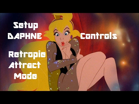 DAPHNE CONTROLLER TUTORIAL RETROPIE ATTRACT MODE - YouTube