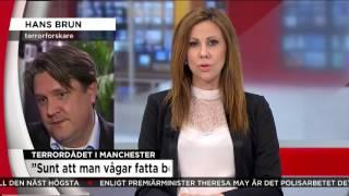 Därför sänks terrorhotnivån i Storbritannien  - Nyheterna (TV4)