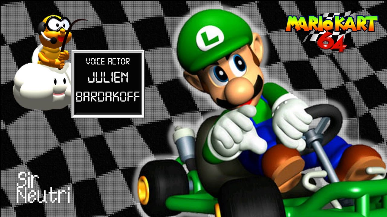 Luigi Voice Collection Jp Mario Kart 64 Sound Effects