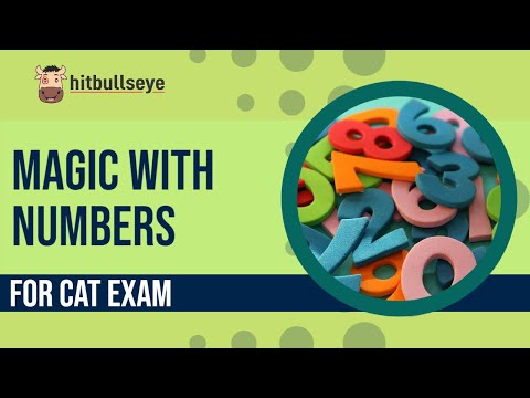 CAT Quant Shortcuts & Tricks (E-lecture) : Magic with Numbers