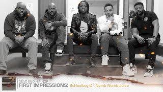 ScHoolboy Q - Numb Numb Juice First Impressions | DEHH