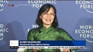 Dinh Thi Quynh Van at PwC's press briefing - WEF ASEAN