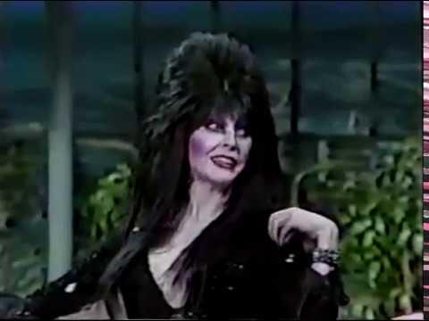 Elvira and Vincent Price on La...