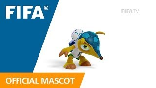 fuleco trains for the fifa world cup