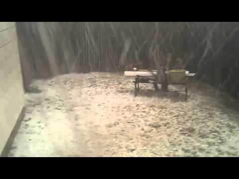 Hail Storm Denton County, TX