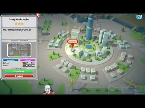 Two Point Hospital Playthrough (PC) - Episode 66D: Last star in main game |