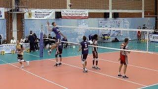 Волейбол. Нападающий удар. Суперлига России
